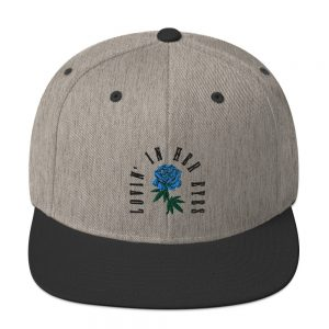 Lovin' In Her Eyes Embroidered Snapback Hat